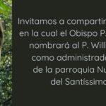 Pe. Willian Fausto – Novo Administrador Paroquial