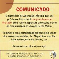Situação da Comunidade Religiosa Sacramentina São Benedito – Fortaleza