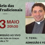 Admissão e Formação no Seminário das Obras Tradicionais