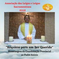 Homenagem da ALLS ao Pe. Anízio Ferreira, sss