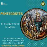 Paróquias e Santuários Sacramentinos celebran a Festa de Pentecostes