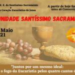 Unificação das Comunidades de Leigos e Leigas Sacramentinos de Caratinga.