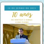 Pe. Marcelo da Silva, sss, celebra 10 anos de Ordenação Presbiteral
