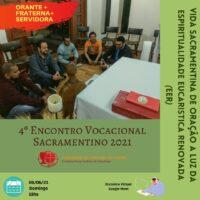 4º encontro Vocacional Sacramentino