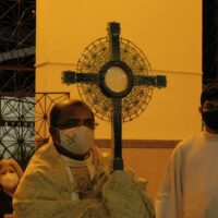 Celebração Solenidade de Corpus Christi nas Comunidades Sacramentinas.