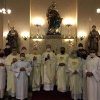 Pré-noviciado participa da novena de Sant'Ana No rio de janeiro