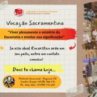 Vocação Sacramentina