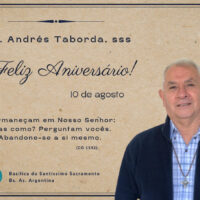 Cumpleaños de P. Andrés Lorenzo Taborda, sss