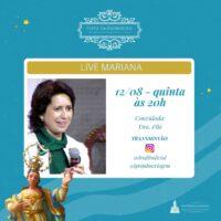LIVE MARIANA com a Dra. Filó