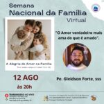 5º dia da Semana Nacional da Família