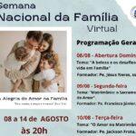 Semana Nacional da Família / Paróquia São Benedito – Fortaleza/CE
