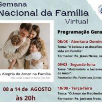 Semana Nacional da Família / Paróquia São Benedito - Fortaleza/CE