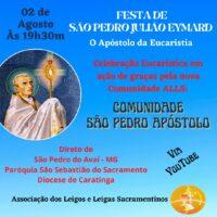 Nova Comunidade de Leigos e Leigas Sacramentinos em São Pedro do Avaí/MG
