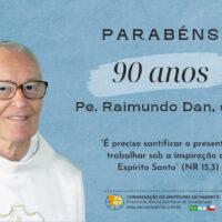 Aniversário de Nascimento Pe. Raimundo Dan, sss