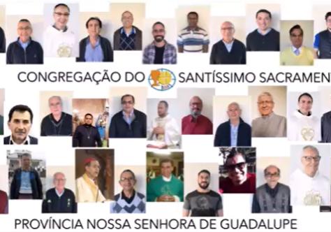 Homenagem aos padres Sacramentinos da Província Nossa Senhora de Guadalupe