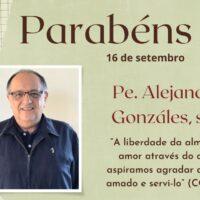 Aniversário de Ordenação Presbiteral Pe. Alejandro Fabio González, sss