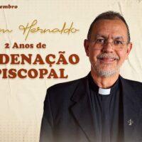 Aniversário de Ordenaçõa Episcopal de Dom Hernaldo Pinto Farias, sss