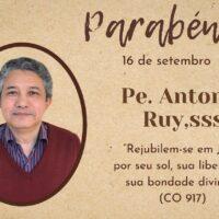 Aniversário de Nascimento de Pe. Antônio Ruy Barbosa Mendes de Morais, sss