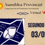 2º dia de Assembleia Provincial