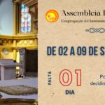 Falta 1 dia para a nossa Assembleia Provincial