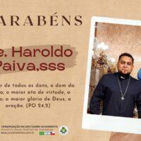 Aniversário de nascimento Pe. Francisco Haroldo Paiva Alexandre, sss
