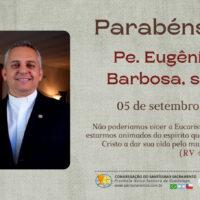 Aniversário Pe. Eugênio Barbosa Martins, sss