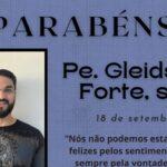 Aniversário de Nascimento Pe. Gleidson Forte Martins, sss