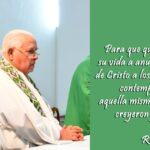 Nota de condolências pelo falecimento de Pe. Gregorio Pavani, sss