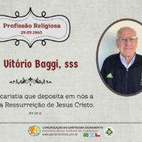 Aniversário de Profissão Religiosa Pe. Felice Vitório Baggi, sss