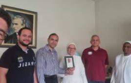 Superior geral, Pe. Eugênio Barbosa Martins, sss visita as Irmãs Servas do S. Sacramento
