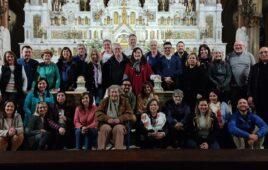 Leigos e Leigas Sacramentinos de Argentina em Retiro