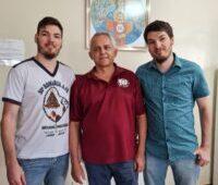Superior Geral Pe. Eugênio Barbosa, sss, visita comunidade do Pré-noviciado