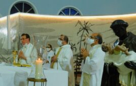 Fiéis celebram com Missa Solene a Festa de nosso Padroeiro São Benedito